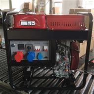 5KW汽油发电机三相工业电移动便携式户外用