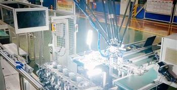 潍坊大世并联机器人用于包装分拣环节