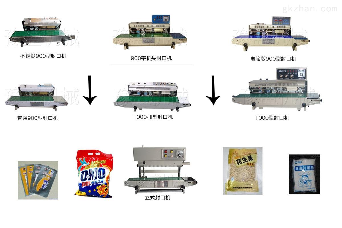 塑料封口机工作流程图