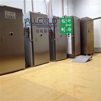重慶央廚500公斤熟食真空快速冷卻機