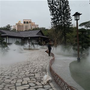 PC-300PJ深圳世界之窗日本園景觀霧森工程