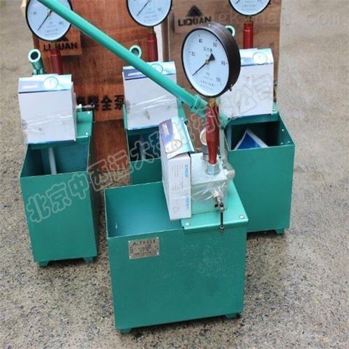 手动试压泵 仪表