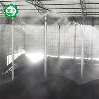 物料堆場噴霧抑塵 焦化廠水霧降塵設施