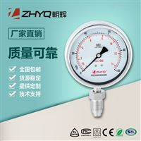 PT124Y-620朝辉均质机专用卫生隔膜压力表