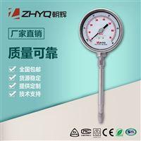 PT124T-610供应橡胶机械设备压力表刚性杆溶体仪表