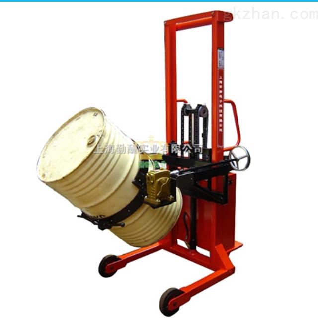 湖南油墨厂液压铁桶倒料车秤 350kg出口欧美