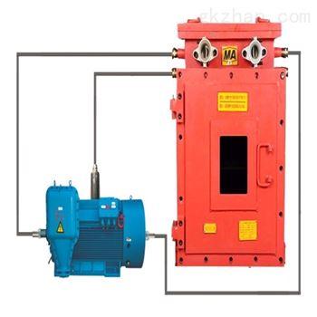 矿用电机主要轴承温度及振动监测装置