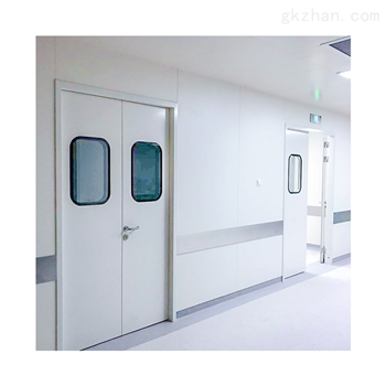 洁净室净化车间钢质门_土建墙净化门安装