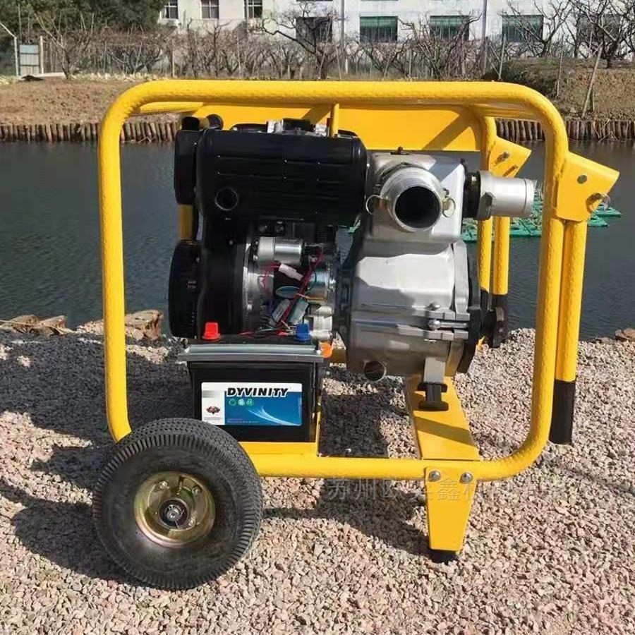 市政排污大流量4寸柴油污水泵渣浆泵40WDE