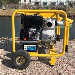EUR Y CIN欧奕鑫市政排污大流量4寸柴油污水泵渣浆泵40WDE