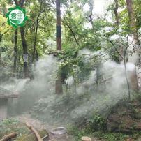 樹林噴霧造景系統