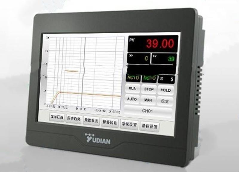 触摸式温控调节记录仪在使用上具有以下八大特点