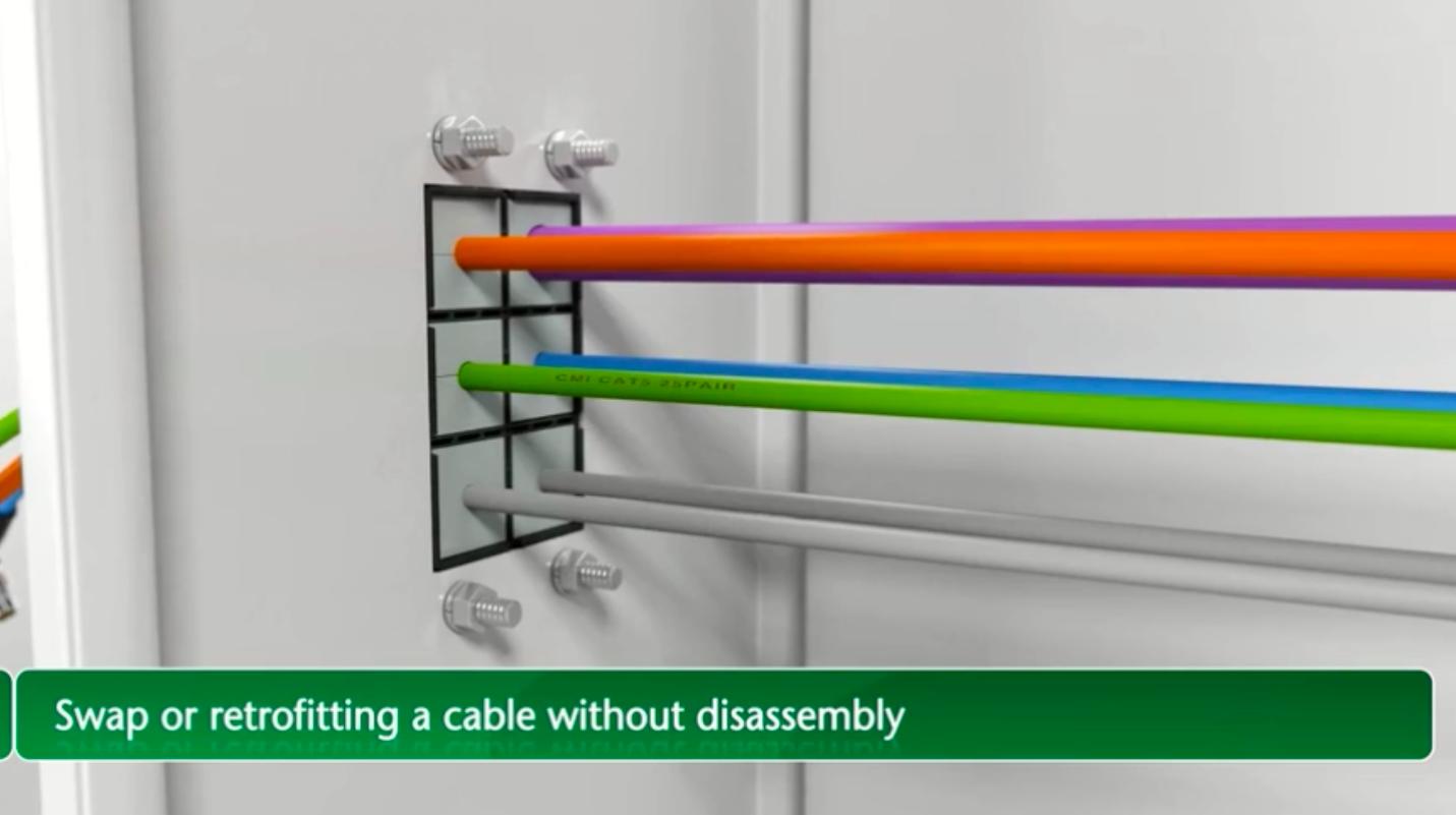 机柜电缆穿线布线管理技术,看看老外是怎么处理的