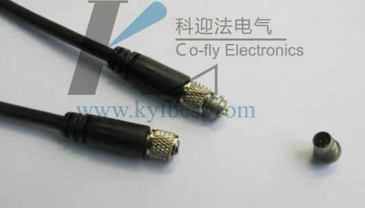 低噪音电缆连接器