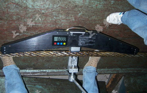 绳索张力测量仪
