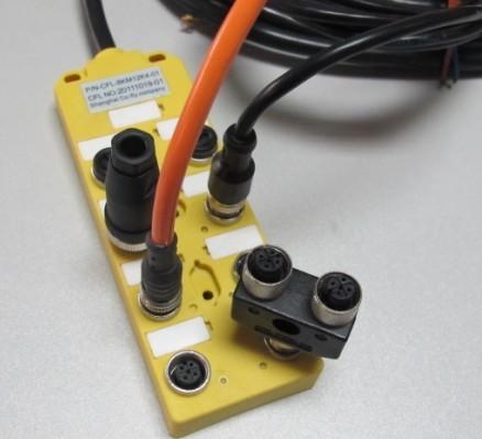 产品描述: 8口分配器-M12-PNP带线2米  产品型号: KYF8K-M12-K4-PNP-L2M