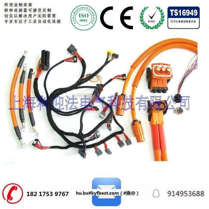 1P高压连接器结构相对简单,成本相对低。满足高压系统的屏蔽、防水等要求,装配工序复杂,维修性差。一般可以应用在电池包甩线、电机甩线等,也可以使用在高压电器内部电路连接,如高压电池包内部等。
