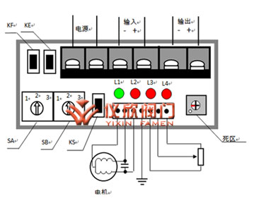 电动调节球阀