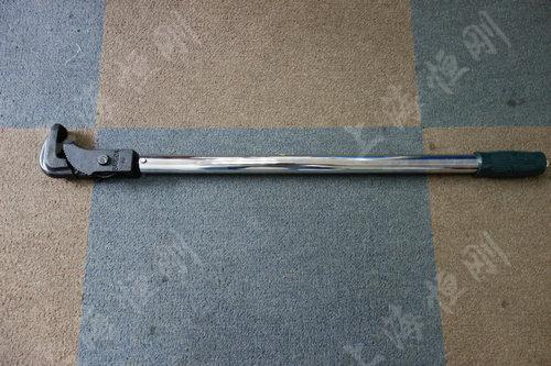 可调式扭力圆螺母扳手图片(可配管钳头)