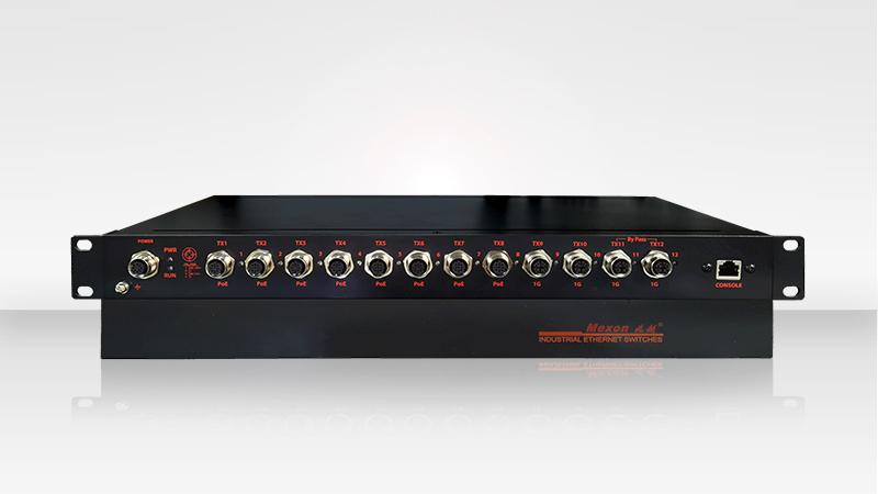 【新品速递】MIES-5516P 机架式网管型POE交换机